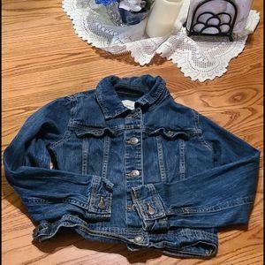 Cherokee little girls jean jacket
